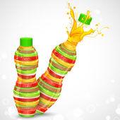 Fruit Juice — Stock Vector