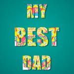 My Best Dad — Stock Vector #30249383