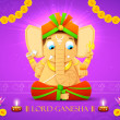 Stock Vector: lord ganesha
