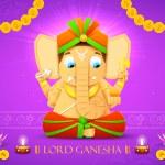 Lord Ganesha — Stock Vector