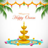 Happy Onam — Stock Vector