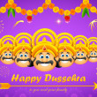 Happy Dussehra — Stock Vector #31191051