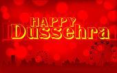Happy Dussehra — Stock Vector