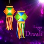 Diwali Kandil — Stock Vector