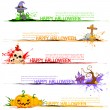 Happy Halloween Header — Stock Vector
