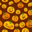 Halloween seamless Pattern — Image vectorielle