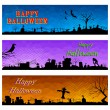 Happy Halloween Header — Stock Vector #33357477
