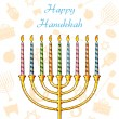 Hanukkah Background — Stock Vector #33808159