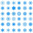 Snowflakes — Stock Vector #34389181