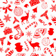 Seamless Pattern Christmas background — Stock Vector