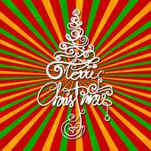 Feliz natal — Vetorial Stock