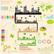 Stock Vector: Sustainability Infographic