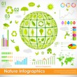 Environmental Infographic — Stock Vector