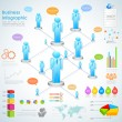 Stockvektor : Business Infographics