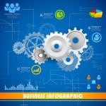 Industrial Infographics Chart — Stock Vector #35864207