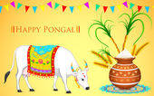 Happy Pongal — Vector de stock