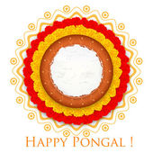 Happy Pongal — Stockvektor