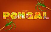 Happy pongal — Wektor stockowy