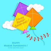 Makar Sankranti — Stok Vektör