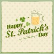 Stock Vector: Saint Patricks Day Background
