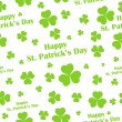 Seamless Saint Patricks Day Background — Stock Vector #39265225