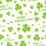 Seamless Saint Patricks Day Background — Stock Vector #39265225