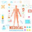 Healthcare and Medical Infographics — Stock Vector