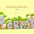 Stock Vector: International Day of Forest