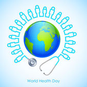 World Health Day — Stock Vector