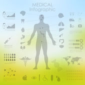 Healthcare and Medical Infographics — Stockvektor