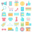 Shopping icon — Stock Vector #43542275