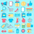 Shopping icon — Stock Vector #43542427