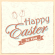 Happy Easter typography background — Stock Vector #44202799