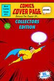 Comic Book Cover — Stock Vector