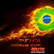 Постер, плакат: FIFA World Cup background