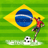 FIFA World Cup background — Stock Vector