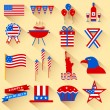 4th of July design element — Stock Vector