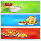 Iftar party Banner — Stock Vector