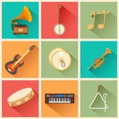 Music instrument — Vector de stock
