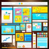 Design av användargränssnitt — Stockvektor