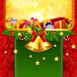 Christmas Gift Card — Stock Vector #7339816