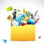 Business Folder — Stock Vector #8570108