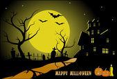 Cadılar bayramı tatil arka plan — Stok Vektör