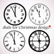 Royalty-Free Stock Vector: Christmas dials