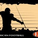 American football — Stock Vector #14731235