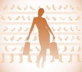 购物 — 图库矢量图片