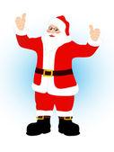 Santa claus — Stockvector