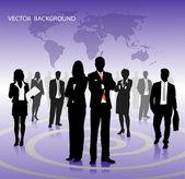 Vektor betriebswirtschaftlicher hintergrund — Stockvektor