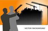 Vector industrial background — Stock Vector