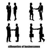 Vergadering van ondernemers — Stockvector